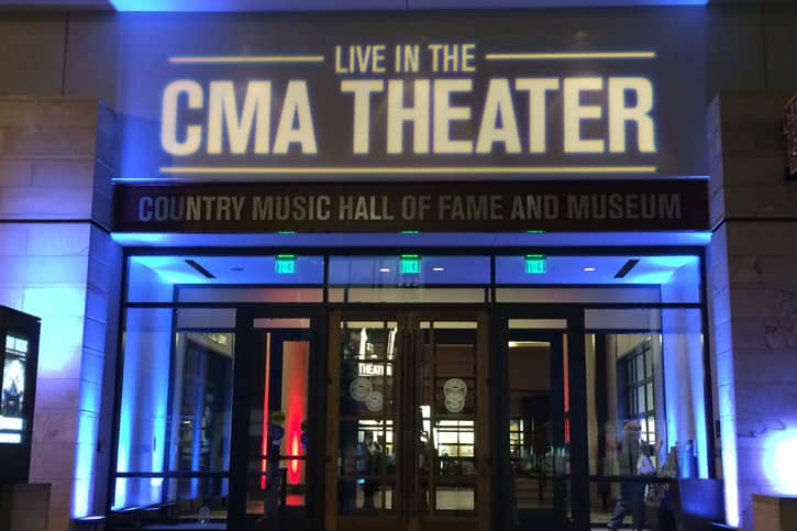 Cma Theater Nashville Tennessee Country Music Hall Of Fame