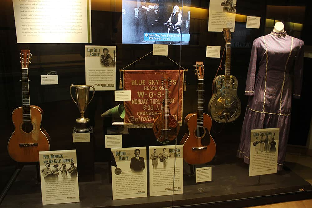 The roots of country music from our third floor galleries.