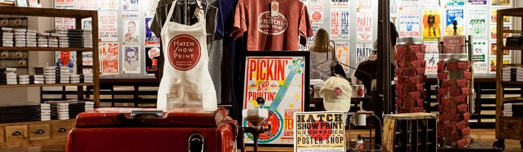 Hatch Show Print Store
