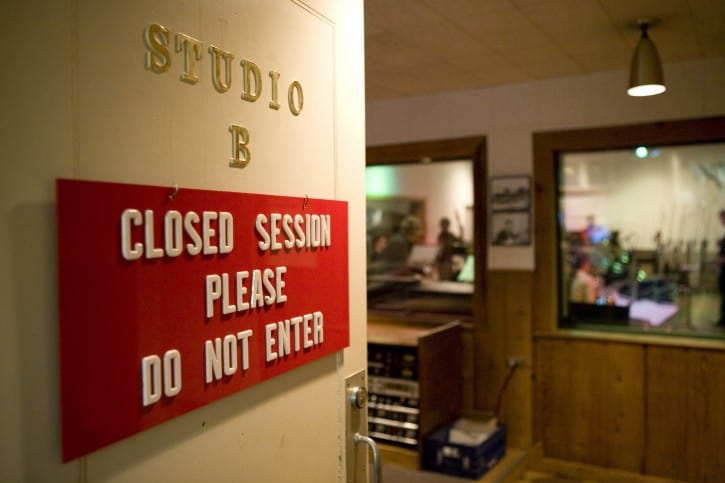 CMHOF-Group-Sales-Historic_RCA_Studio_B_door_-_photo_by_Donn_Jones,_courtesy_of_Country_Music_Hall_of_Fame_and_Museum