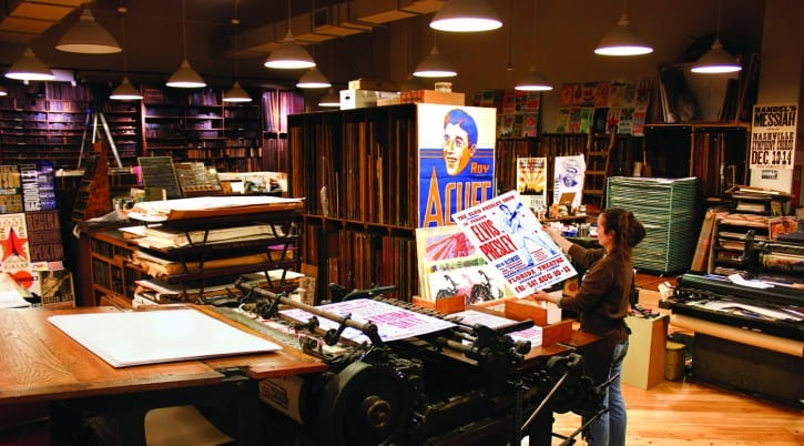 PRESS_SITE_Hatch-Print-Shop-general-celene_at_press-_photo_by_Donn_Jones_-_courtesy_of_the_Country_Music_Hall_of_Fame_and_Museum