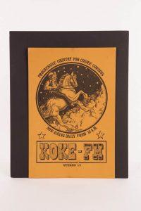 Lesson 2: Austin, Texas radio station poster promoting KOKE-FM.