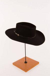 Lesson 2: Waylon Jennings's signature black cowboy hat.