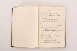 Lesson 2: Waylon Jennings's folio containing handwritten lyrics.