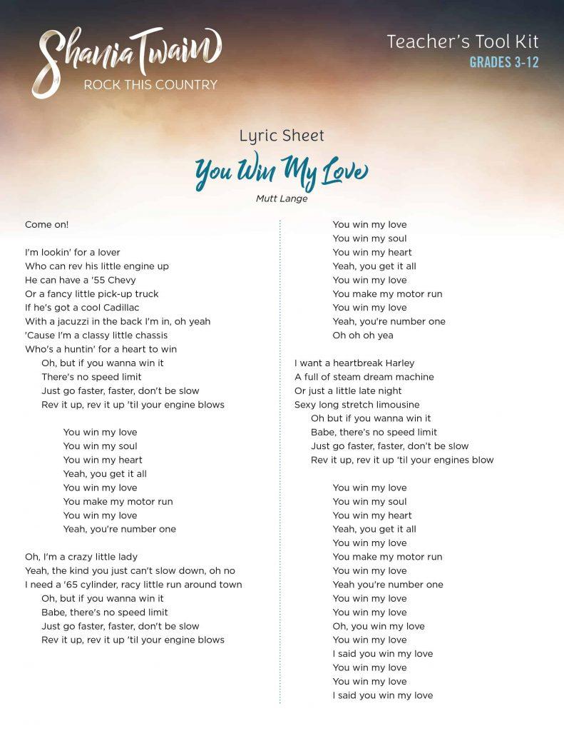 Lyrics_YouWinMyLove