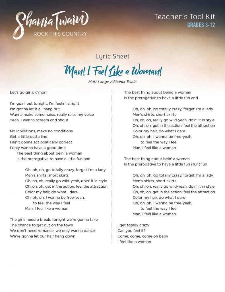 Lyrics_ManIFeelLikeAWoman