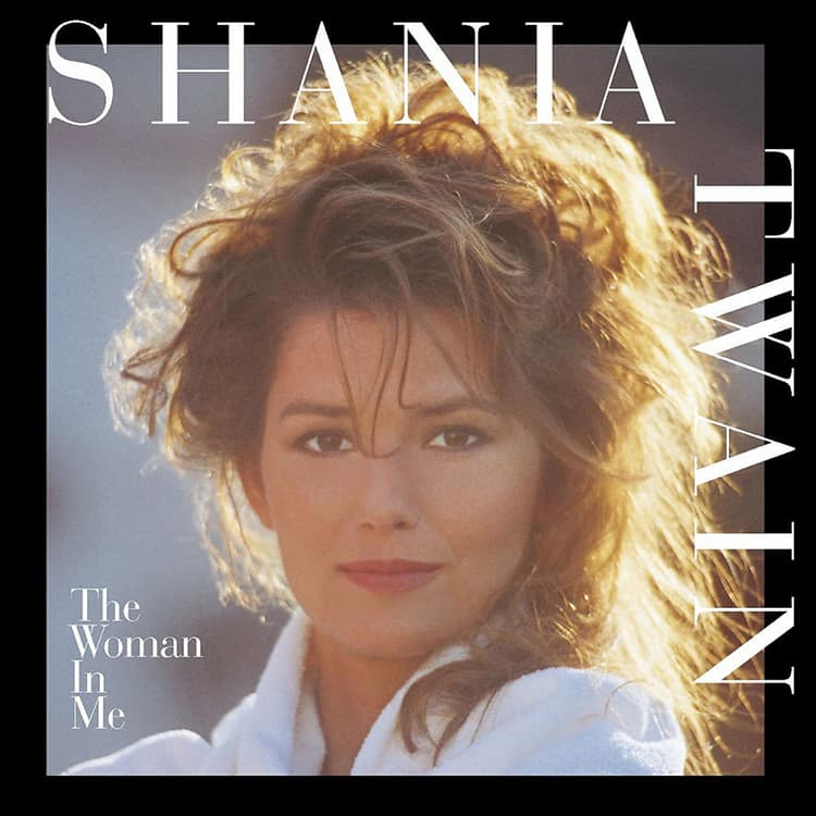 Shania Twain's 1995 album The Woman in Me.