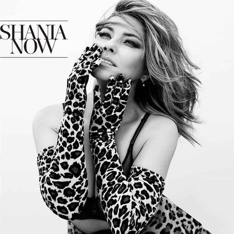 Shania Twain's 2017 album Now.