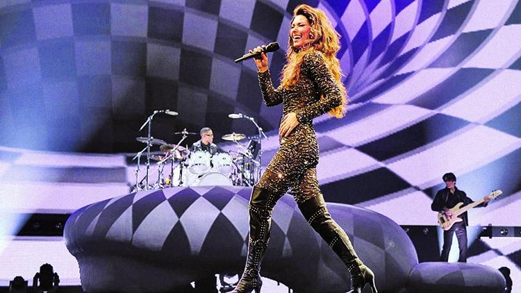 Shania Twain, Live From Las Vegas, 2015.