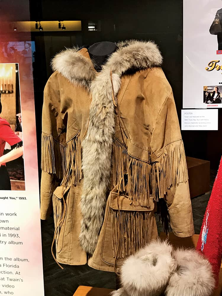 Shania Twain wore this jacket and boots on the cover of her 1993 debut album.
