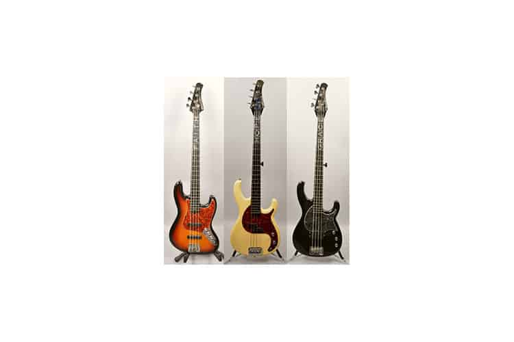 """John Driskell Hopkins named three Modulus Graphite bass guitars after his daughters. His Vintage J model is """"Faith."""" His Funk Persuasion model is """"Hope."""" His Funk Unlimited model is """"Grace."""""""