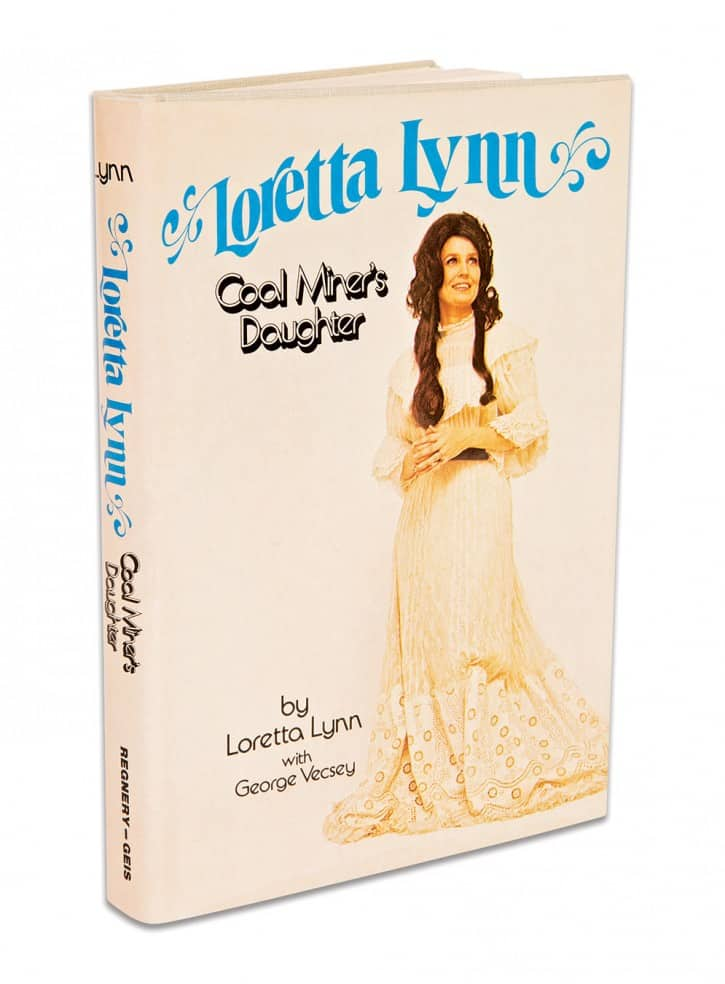 First edition of Loretta Lynn: Coal Miner's Daughter, published in 1976.