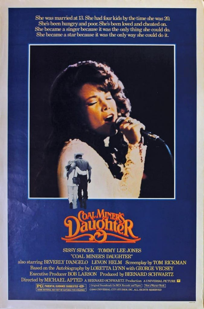 Poster for Coal Miner's Daughter.
