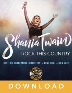 Shania Twain lesson guide cover art