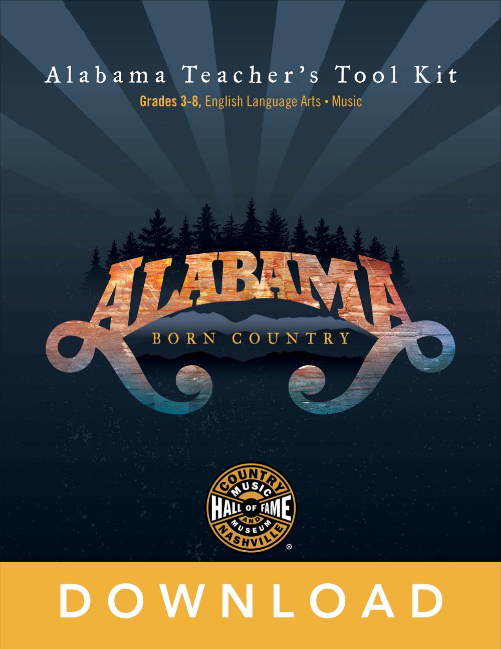 Alabama lesson guide cover art
