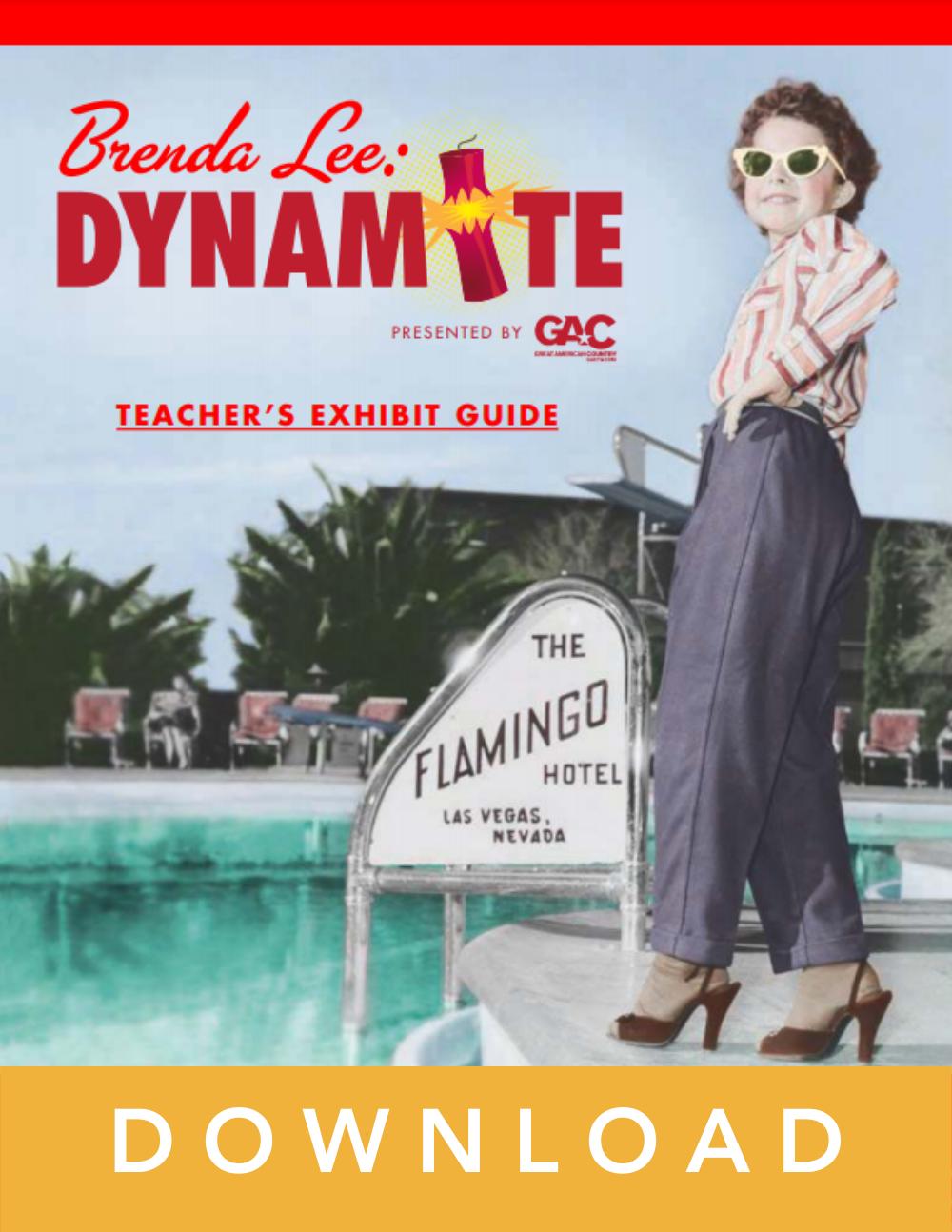 Brenda Lee lesson guide cover art