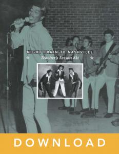 Night Train to Nashville lesson guide cover art