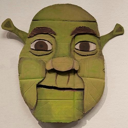 Shrek student artwork